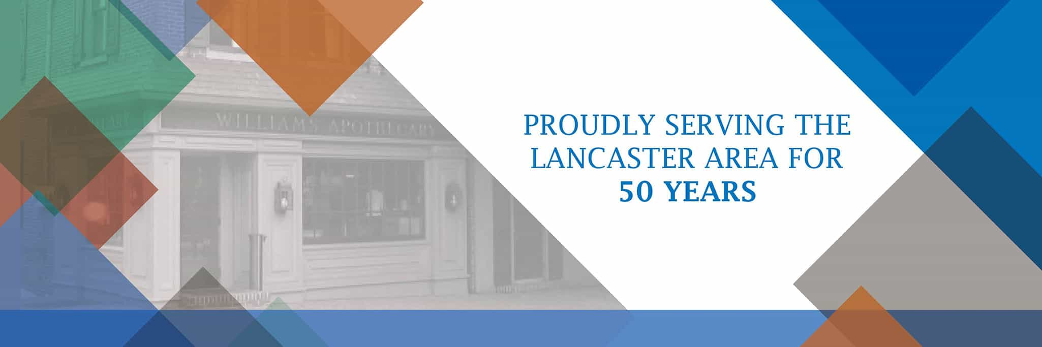 proudly serving the lancaster area for 50 years